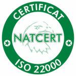 MIRAIOANA SRL - Certificat ISO 22000