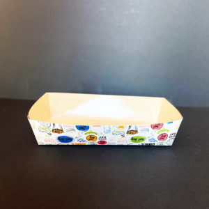 Tavita biodegradabila Fast Food - ECO TRAY 550 Enjoy